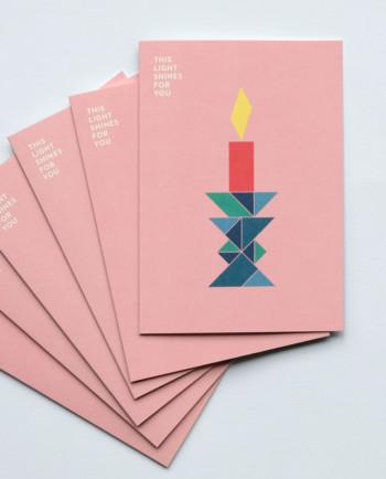 Weihnachtskarten Set