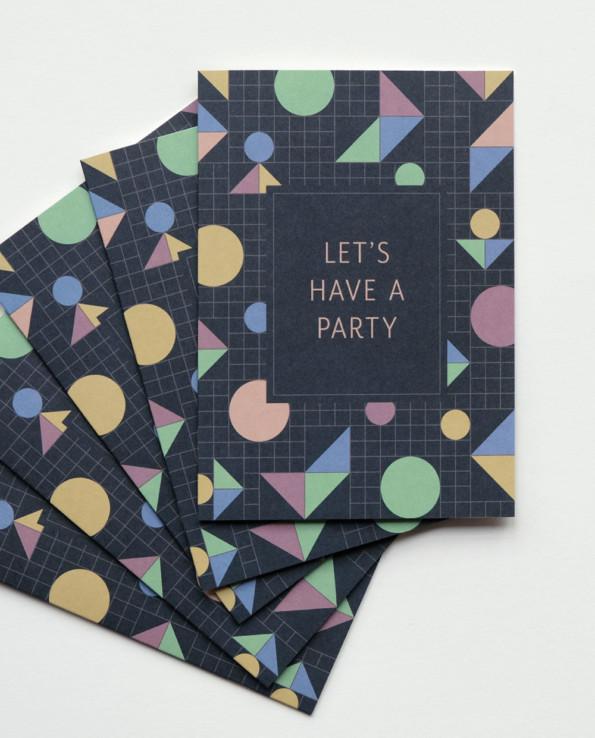 Partykarten Set
