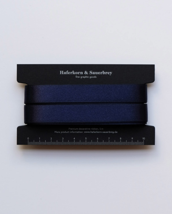 Geschenkband nachtblau