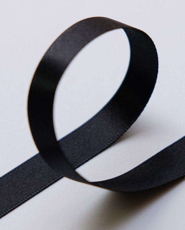 Geschenkband schwarz